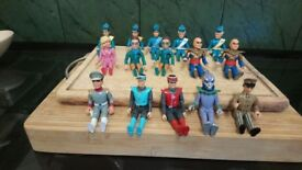 Original thunderbird figures .