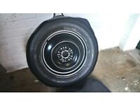 Toyota spare wheel