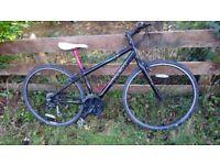"Trek 7.2 fx ladies hybrid mountain bike, 24 gears, 29"" wheels"