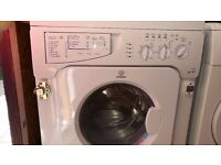 3 months old wash dryer Indesit - washing machine and dryer - built in