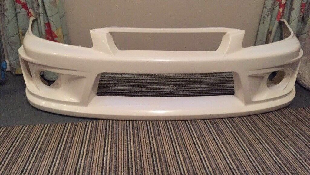 Varis front bumper and Toyota Starlet rear bumper for sale (Glanza, Varis, Starlet, Bumper)