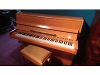 Stunning Eavestaff 2009 upright piano and stool