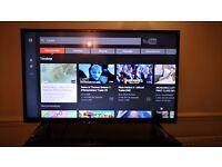 Smart TV Bush 40 inch 4K Ultra HD Smart TV with Freeview Play / televizor smart 40 inch