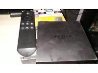 Amazon fire tv comes with remote hdmi lead power