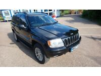 Grand Cherokee Jeep 2.7 (Mercedes diesel) automatic