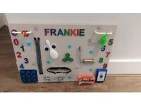 Personalised fidget board