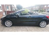 Sexy LBC -( Little Black Car) Peugeot 207 CC - Price now reduced to £2,200. Reluctant sale
