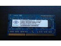 Laptop memory DDR3 2GB 1333