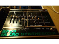 Electro Harmonix Bass MicroSynth Effects Pedal