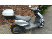 Piaggio Fly 125cc automatic. Good condition. 12 month MOT