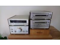 Technics ST-HD50 HiFi System Separates with Speakers & Remote