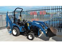 NEW HOLLAND TC21D,LOADER,BACKHOE,VGC,NO VAT