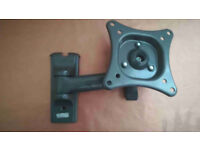 """Small TILT and SWING LCD/LED Wall Mount up to 26""""/15Kg"""