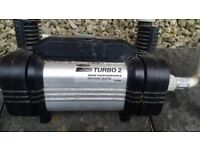 Turbo 2 high performance shower pump. Good condition.