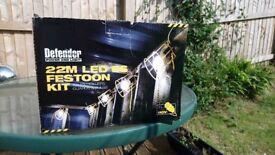 BRAND NEW IN BOX DEFENDER 22M LED FESTOON LIGHTING KIT