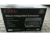 As New CDA 60cm Integrated Kitchen Extractor
