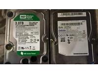 3TB and 750GB sata hard drives FAULTY