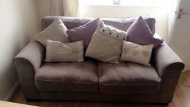 **BARGAIN** Beautiful 2 piece NEXT sofa in immaculate condition