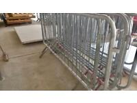 80nr Metal Crowd Barriers 2.3m Long