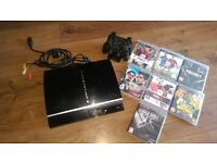 Playstation 3 console/remote/games