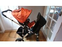 Uppababy and rumbleseat