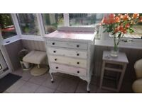 Up-cycled French Dresser/Chest of Drawers