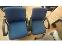 6 office chairs for sale SE1 (collection only)