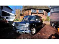 Classic Mini Van, Rare, Full restoration, Mini Magazine feature