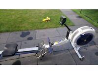 Concept 2, model D, PM3 rowing machine
