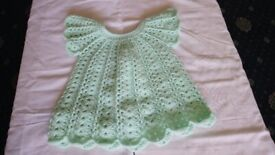 Hand Crochet Baby Garments 0 to 6 mths old