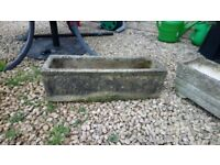 Concrete trough **Reduced to £6** was £8