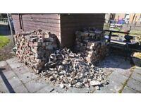 Bricks, rubble free to collect.
