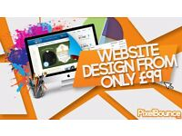 Cheap Web Design from only £99 - PixelBounce