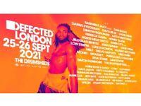 2 x Defected @ Drumsheds weekend tickets