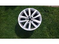 Genuine BMW V spoke alloy wheel x1. £200 no offers