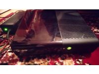 Xbox 360e console with controller and 36 games (disc only)