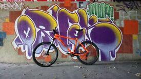 Orange Clockwork 120s Mountain bike XL