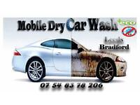 Mobile Dry Car Wash. Mobile Valet. Bradford, Halifax, Leeds.