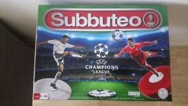 Subbuteo Champions League Game