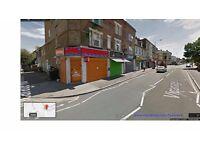 Corner Shop with Basement (same size of the shop) to let at VICARAGE LANE, STRATFORD E15 4HG