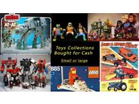 VINTAGE 70'S 80'S 90'S TOYS WANTED HE-MAN , Miscellaneous , Star Wars , Lego ,GI JOE ,Transformers