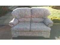 2 X 2 Sofas and Foot Stool