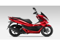 Honda PCX 125 Red Color Scooter with 5 months warranty