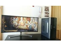 Gaming PC GTX 1080TI , 16GB DDR4 Corsir , 7600K