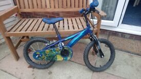 Children's Bike - aged 4-6 approximate