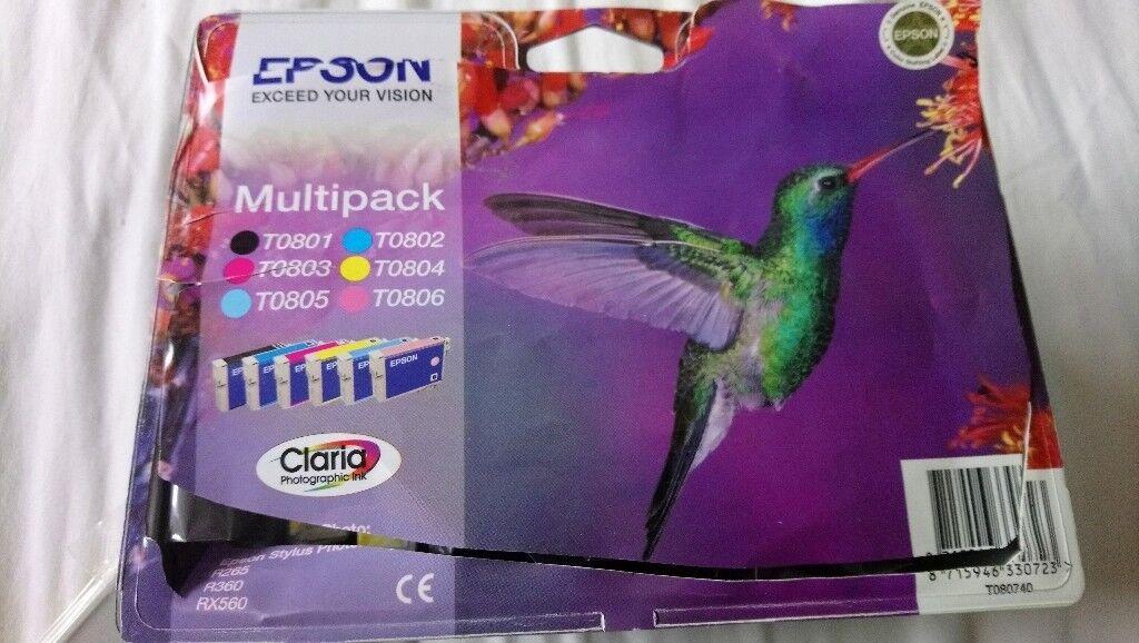 12 Brand new Epson printer cartridges for sale