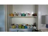 Collection of teapots