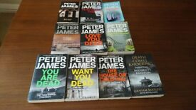 VariousPeter James Books dead series host perfect people etc