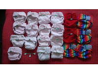 Second hand cloth nappies for sale