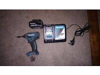 Makita Impact Driver, Battery and Charger